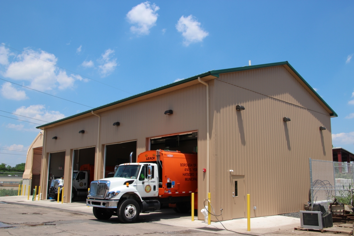 Hatboro Truck Garage & Salt Building